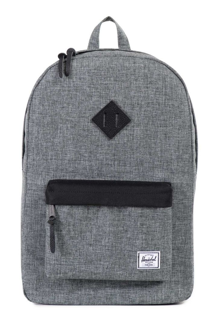 HERSCHEL SUPPLY CO. Heritage Raven Crosshatch $110