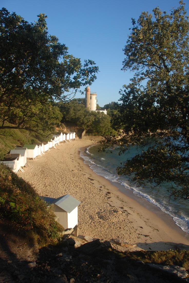 L'anse rouge Noirmoutier en l'île
