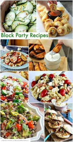 Block Party Recipes That Are Sure To Impress - Moms & Munchkins