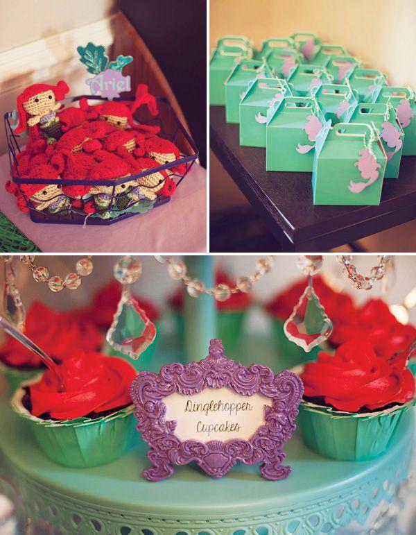 Ariel Birthday Food Ideas