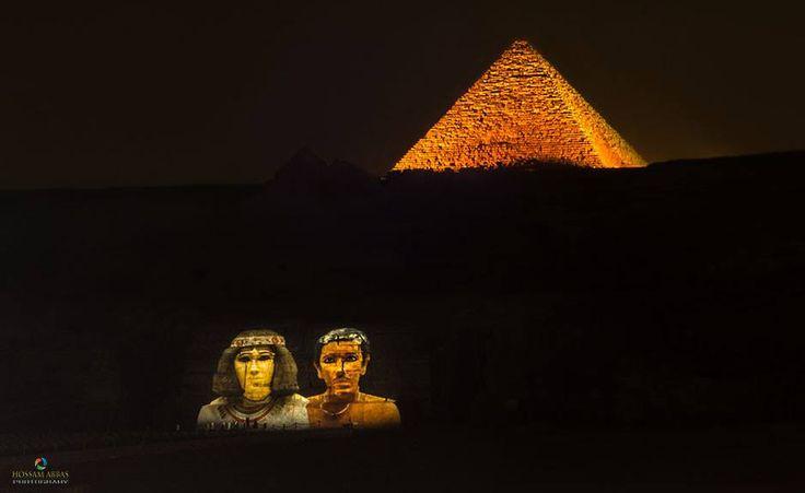 Sound & light in Pyramids