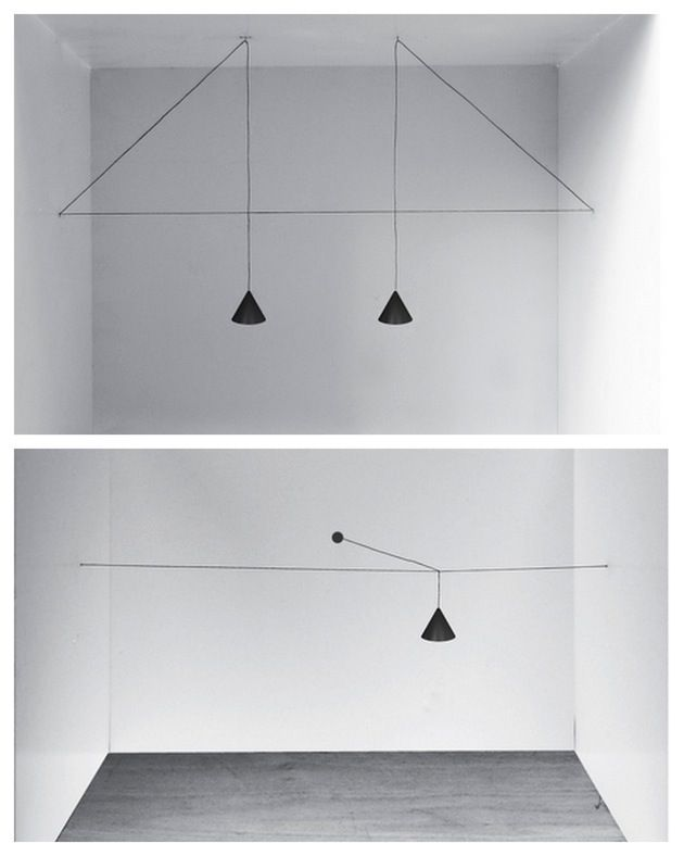 Cool idea!  WABI SABI Scandinavia - Design, Art and DIY.: Milan 2013: geometry in the air