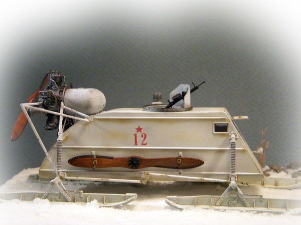 (NEO)AMPS...Northeast Ohio Armor Modeling and Preservation Society: Trumpeter NKL-26 Aerosan