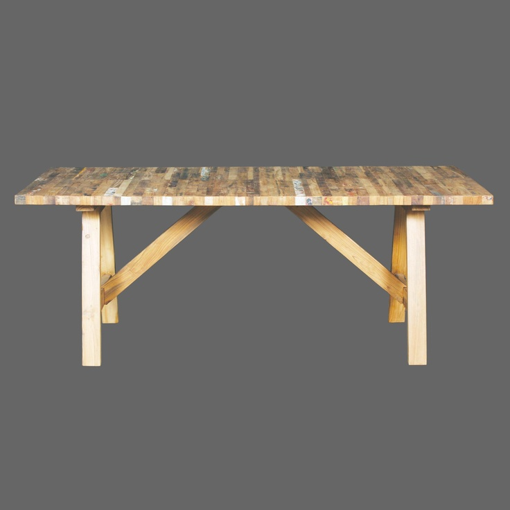 Recycle Wood Dining Table Timber TableTimber FurnitureReclaimed