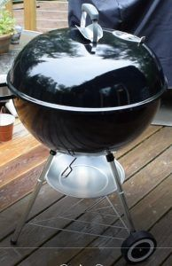 "You cannot go wrong with this Weber 22"" Charcoal Grill!"