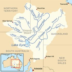Wikipedia article on Lake Eyre