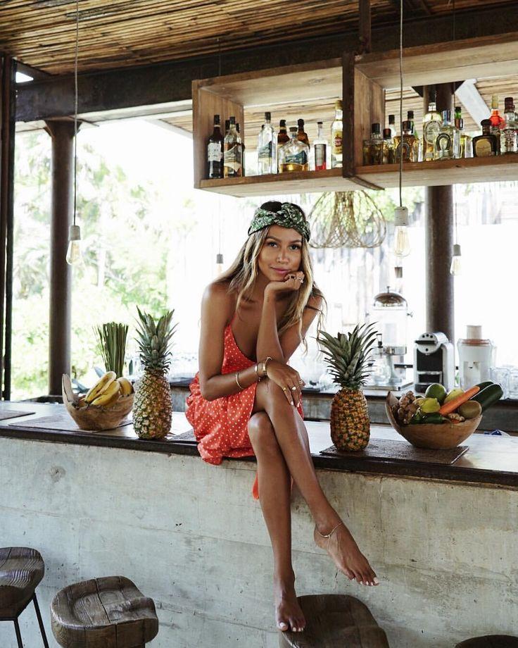 "JULIE SARIÑANA on Instagram: ""Chiquita banana.  @shop_sincerelyjules dress"" • Instagram"