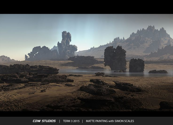 Class: Matte Painting with Simon Scales