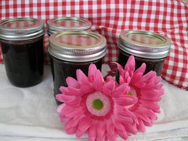 Fresh Bing Cherry Jam from Food.com: The hardest part is pitting the cherries. Cover up because you will get splattered.