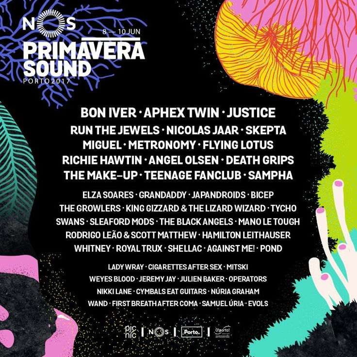 Primavera Sound Festival Line Up 2017