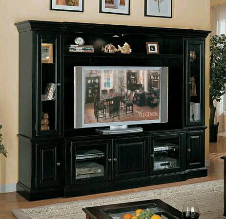 23 best entertainment wall unit images on pinterest entertainment wall units entertainment. Black Bedroom Furniture Sets. Home Design Ideas