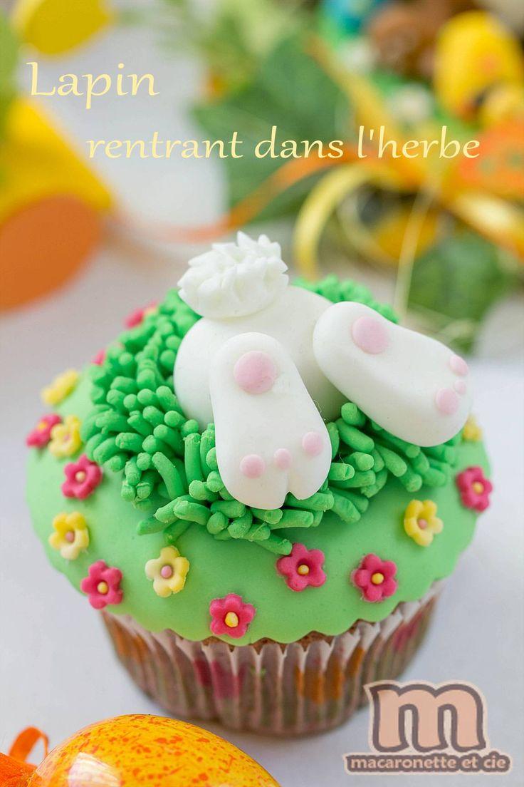 Petites décorations de Pâques en pâte à sucre ou pâte d'amande - Macaronette et cie