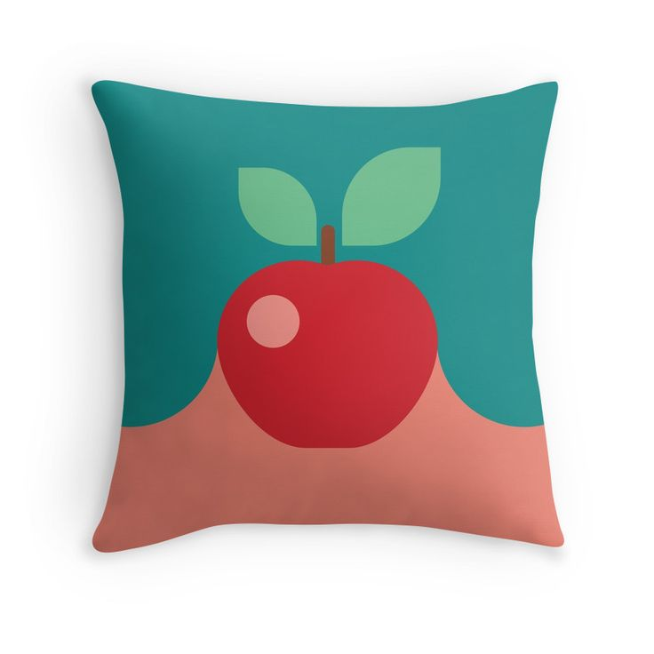 Modern Abstract Colorful Butterfly Illustration by #PrintsProject #homedecor #pillow #apple #redbubble