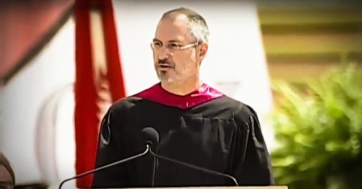 At his Stanford University commencement speech, Steve Jobs, CEO and co-founder of Apple and Pixar, urges us to pursue our dreams and see the opportunities in life's setbacks -- including death itself.