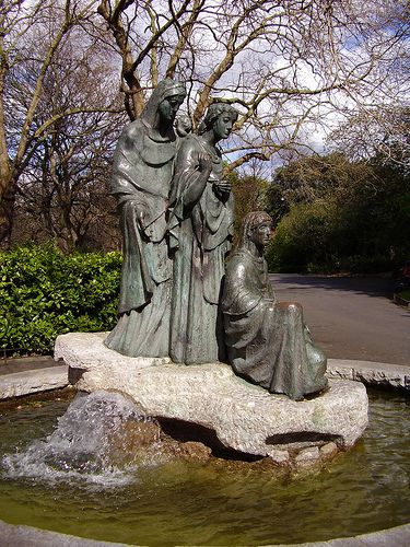 The Norns (Old Norse: norn, plural: nornir) in Norse mythology are female beings who rule the destiny of gods and men, and comparable to the Fates in Greek mythology.