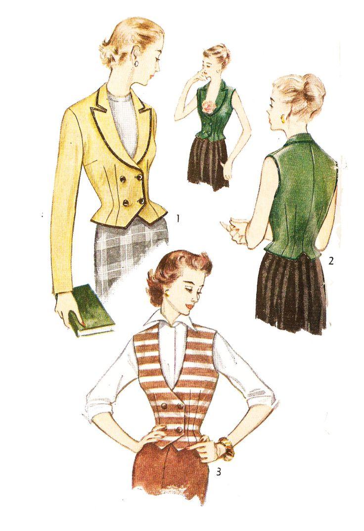226 besten 1950s Vintage Patterns Bilder auf Pinterest | 1950er ...