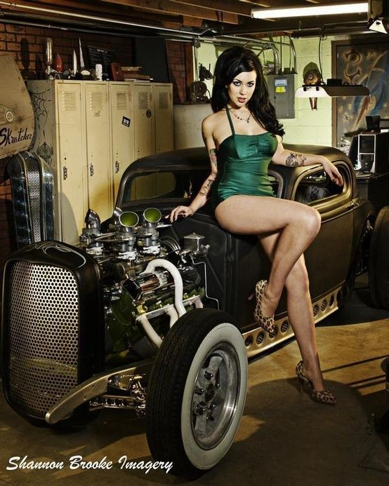 from Collin hot toples chicks with hot rods