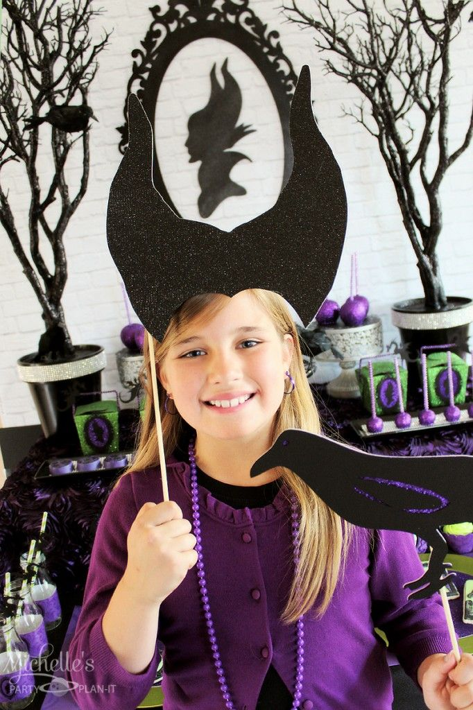 maleficent party props - Michelle's Party Plan-It
