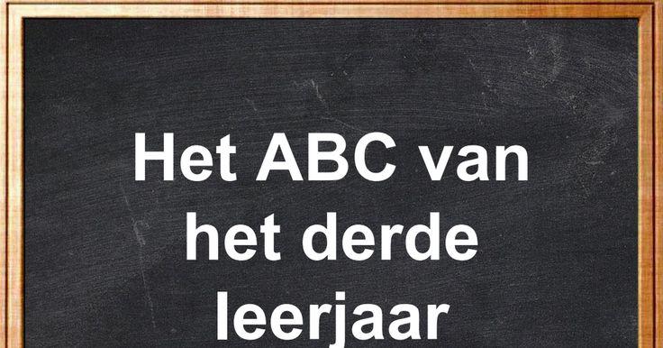 Het ABC van het derde leerjaar.ppsx