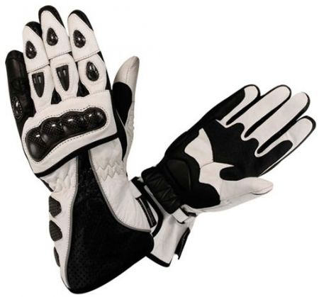 Have Made of Analine Leather, Featuring Kevlar protection on Back Side. Ventilation Holes on Fingers. 2 Adjustable Velcro's