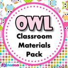Save $7.50 by purchasing this adorable owl-themed pack instead of each title individually (Please download preview for visuals.).     Pack includes:  ...