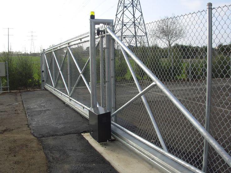 Best industrial gates fences images on pinterest