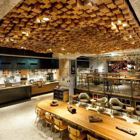 Starbucks The Bank à Amsterdam