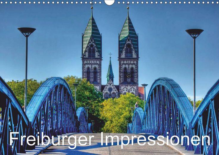 Freiburger Impressionen (2014) Freiburg im Breisgau (Monatskalender, 14 Seiten)