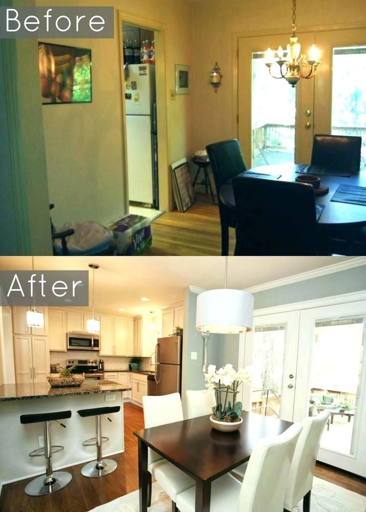 Kitchen Dining Room Combo, Small Kitchen Dining Room Combo Design Ideas