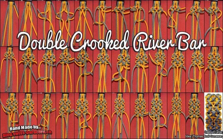 Die Crooked River Bar von TIAT (JD.Lenzen) ist schon vor einer halben Ewigkeit vorgestellt worden, Zeit genug also den Knoten ein wenig aufzupimpen. Genau das hat Thomas *Budi Gunawan getan, er hat die Crooked River Bar in eine Double Crooked River Bar um