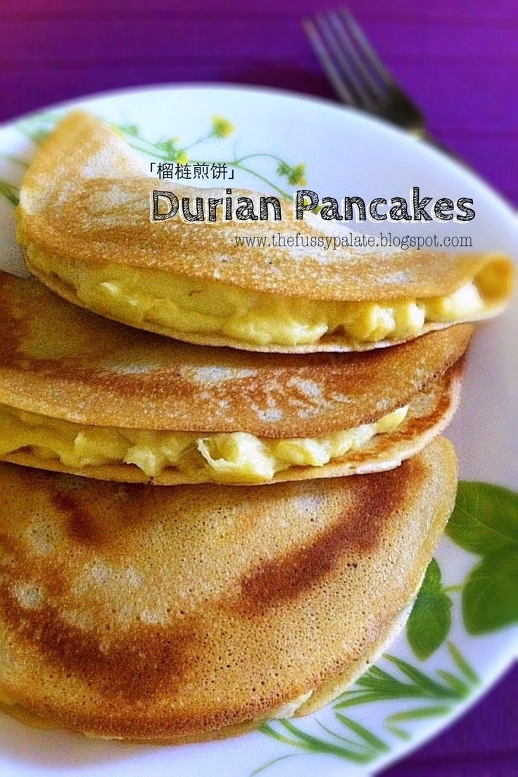 The Fussy Palate: Durian Pancakes