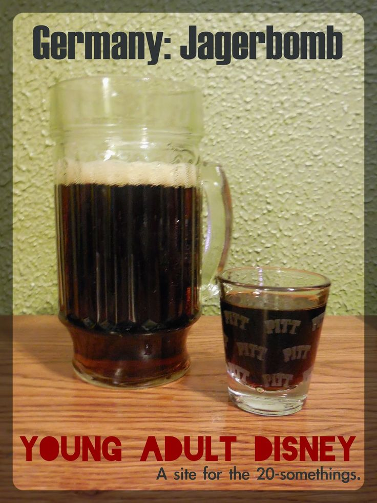 Young Adult Disney: Germany: Jager Bomb