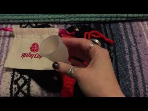 Menstrual Cup Review: Ruby vs. Keeper - YouTube