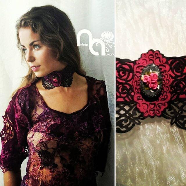 Choker & bolero from manually perforated fabric. Designed & handmade by Natalia Alexandrova. #chokers #bolero #cape #design #handmad #accessories #болеро #чокер #аксессуар #бардо # vinecolor # burgundy #headwear #burlesque #magazine #lookoftheday #picoftheday #shoplocal #gettinginshape #prettygirl #shop #style #luxurylife #instadaily #instafashion #bridalheadpiece #lookoftheday #bridetobe #bridalstyle #couture #cosmobride #weddingwonderland #weddingday