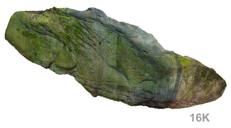 3d model stone boulders ned