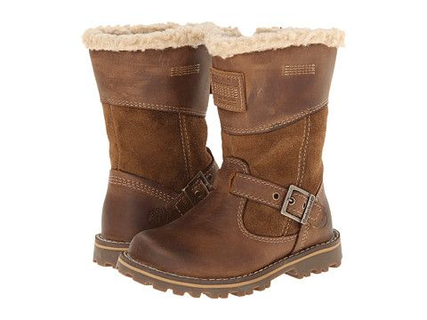 Timberland Kids Earthkeepers® Asphalt Trail Skyhaven Tall Boot w/ Faux Sherling (Toddler/Little Kid)