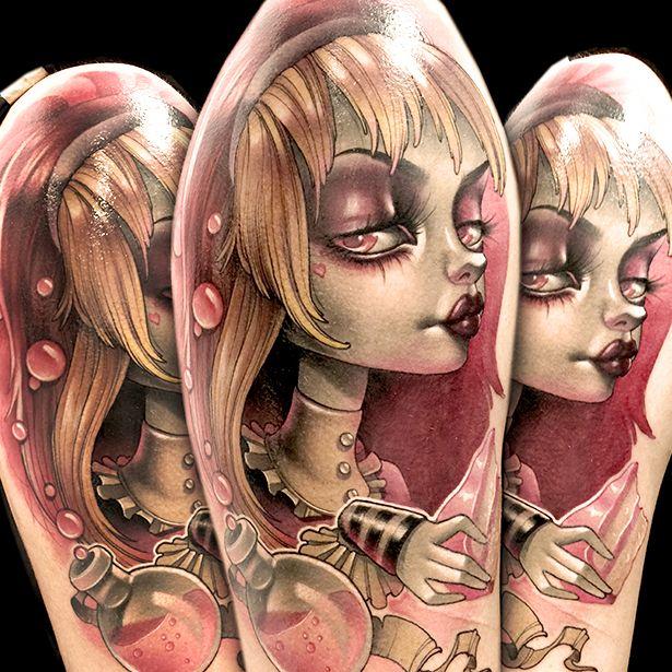 Artist Portfolio: Kelly Doty - Ink Master