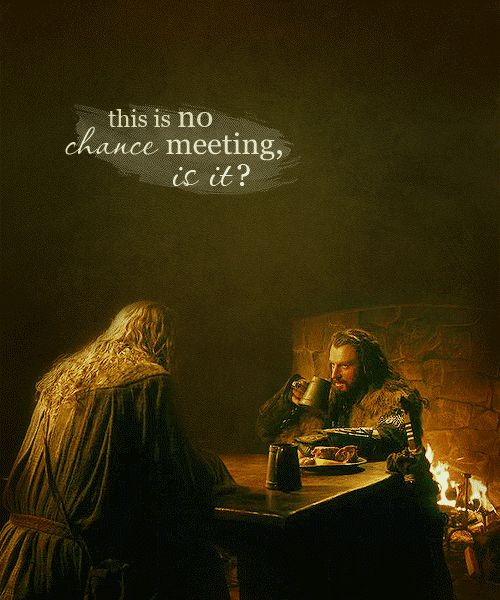 my hobbitquotes: this is no chance meeting