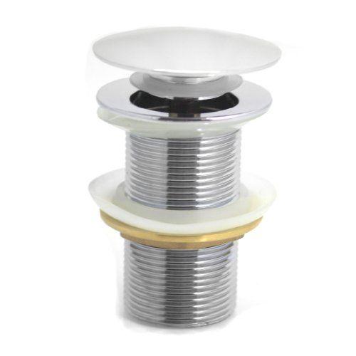 Abfluss Ventil mit Pop Up Funktion (Click & Clack) Ablaufgarnitur Popup (Ohne Ablaufventil)