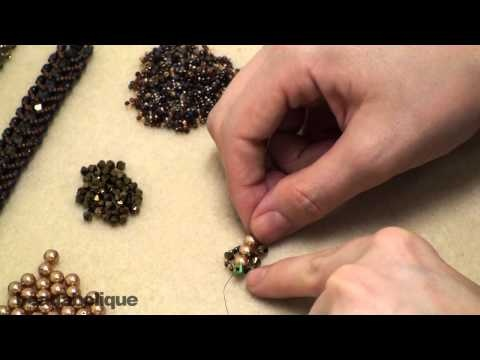 How to Do a Flat Spiral Stitch for Beading & Make a Bracelet