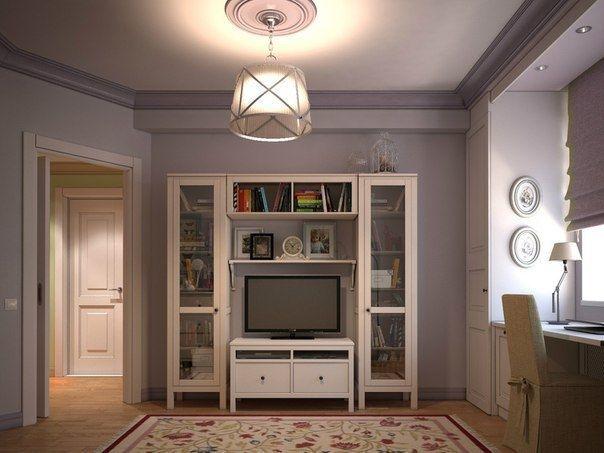 Идея интерьера небольшой квартиры - Дизайн интерьеров | Идеи вашего дома | Lodgers