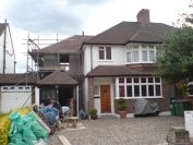House extension to a 1930's property