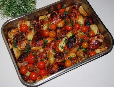 O kuchni z uczuciem : Udka z kurczaka z ziemniakami