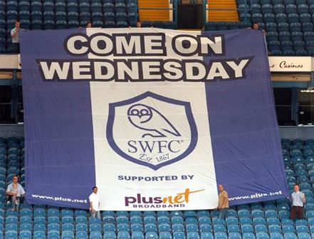 Sheffield Wednesday Stadium Flag