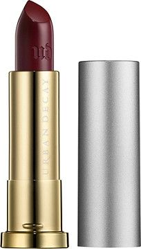 Urban Decay Cosmetics Vice Lipstick Vintage Capsule Collection Bruise has a super-creamy texture, rich payout and superior color dispersion. Yummy Butter Blend comforts, hydrates and enhances, leaving lips soft and conditioned, never dry.