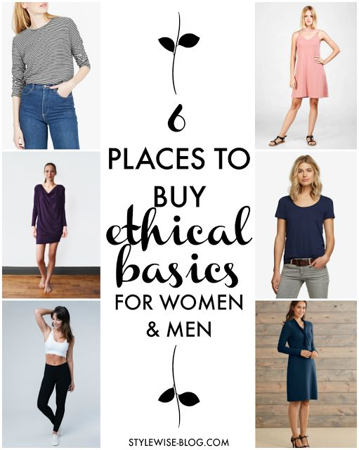 6 Places to Buy Well Made, Ethical Basics for Women (