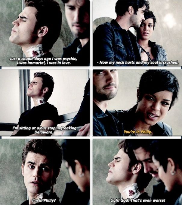Silas humor on The Vampire Diaries #PaulWesley #Pdubbers freaking loved this evil sarcastic side of stephen salvatore