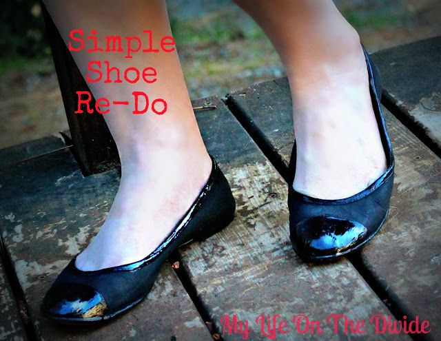 My Life on the Divide: How to paint suede shoes, an easy shoe Refashion