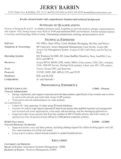 view our professionally written resume examples samples for an it director position site offers resume templates free resume formats and resume writing - Sample Resume For Leadership Position