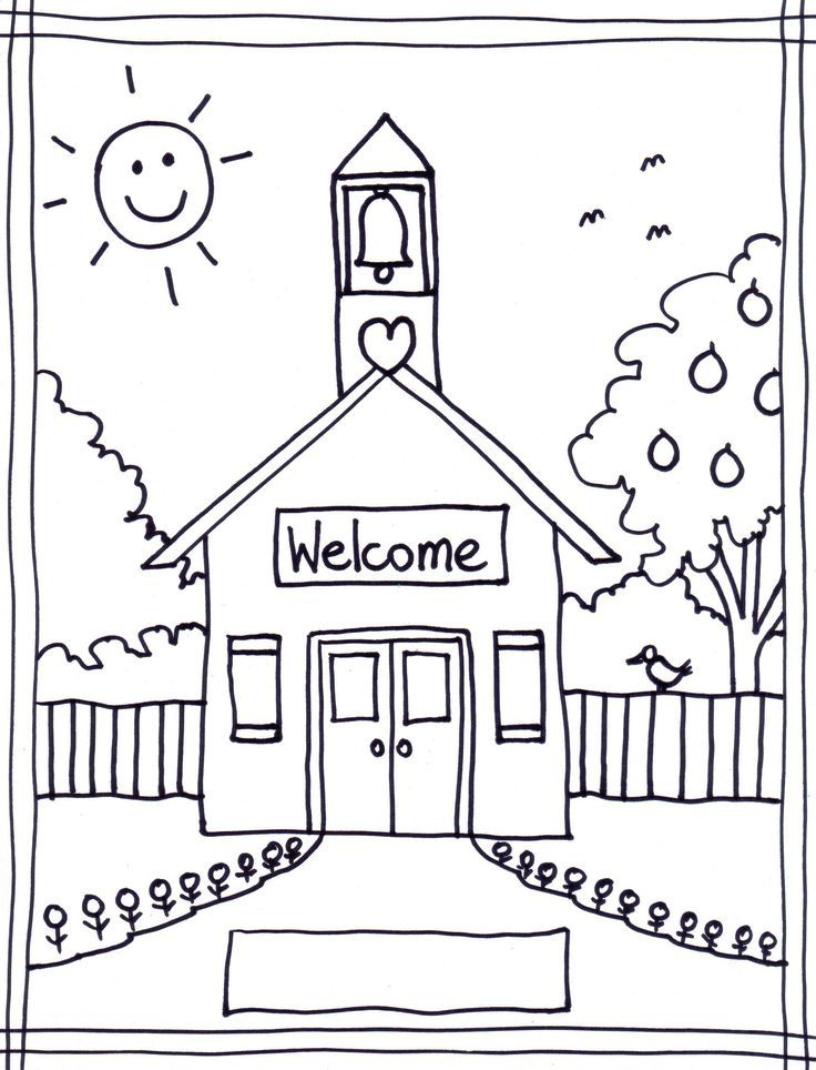 back to school coloring pages free printables image 22 - Free Coloring Picture